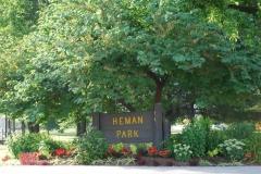 Olive at Heman Park corner